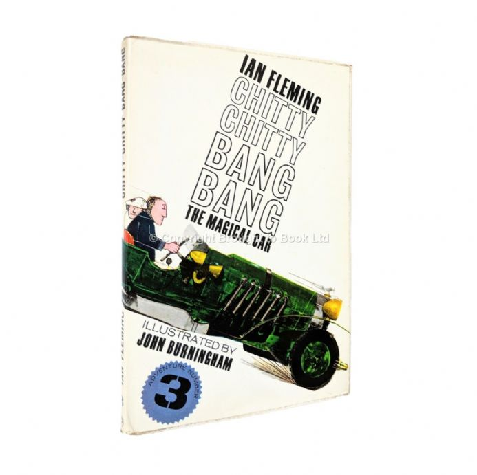 Chitty Chitty Bang Bang The Magical Car Adventure Number 3 by Ian Fleming First Edition Jonathan Cap